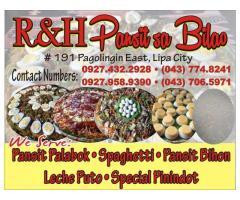 R&H Pansit sa Bilao