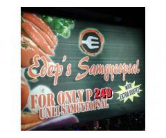 Edep's Samgyeopsal Unlimited Korean Grill
