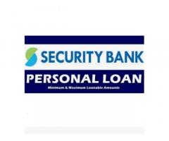 Security Bank Personal Loan and Business Loan