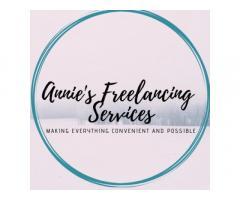 Annie's Freelancing Services