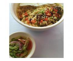 Popol's Rice Bowls & food trays atbp.