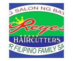 Reyes Haircutters Tanauan Branch