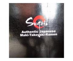 Sugoi Authentic Japanese Maki-Takoyaki-Ramen