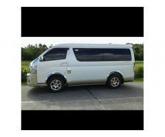 Kalibo -Caticlan Tourist Van for Hire.