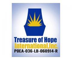 Treasure of Hope International, Inc.