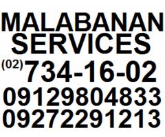 JAMES malabanan siphoning services 7341602 / 09272291213