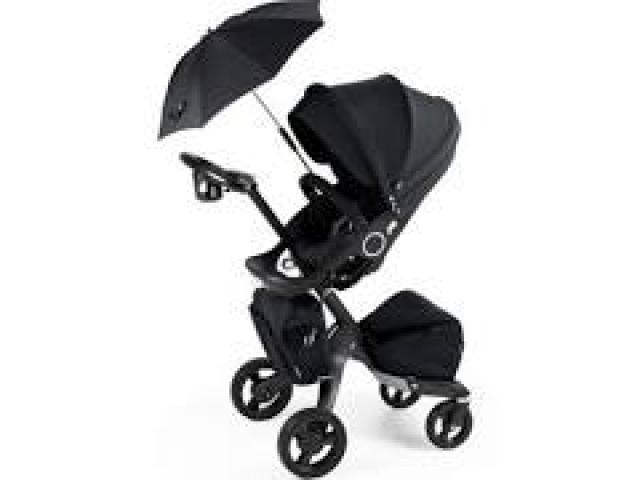 Brand New Stokke Xplory Stroller, Black Melange