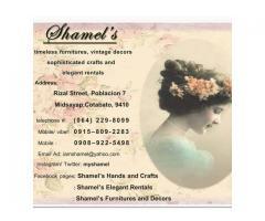 Shamel's Furnitures and Decors