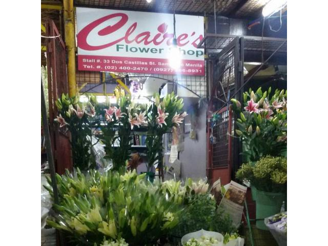Claire's Flower Shop