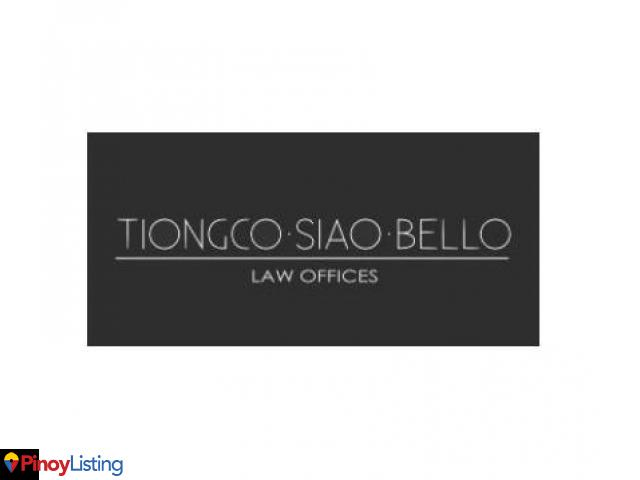 Tiongco Siao Bello & Associates Law Offices