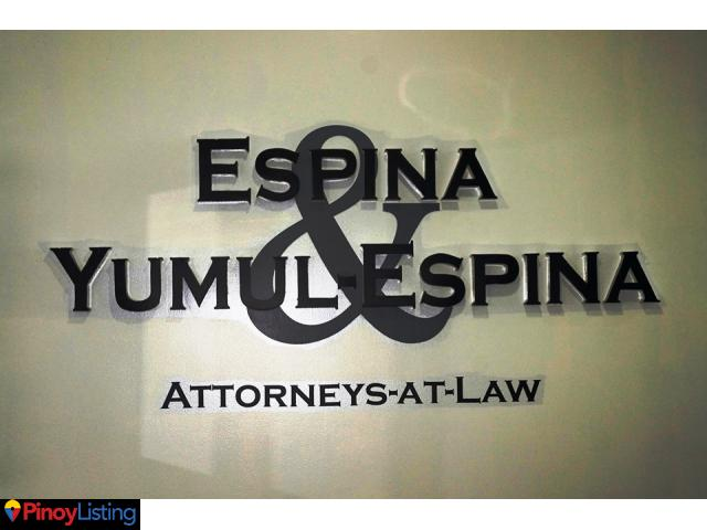 Espina & Yumul Law Office