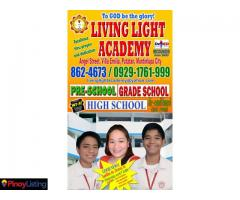 LIVING LIGHT ACADEMY, INC.