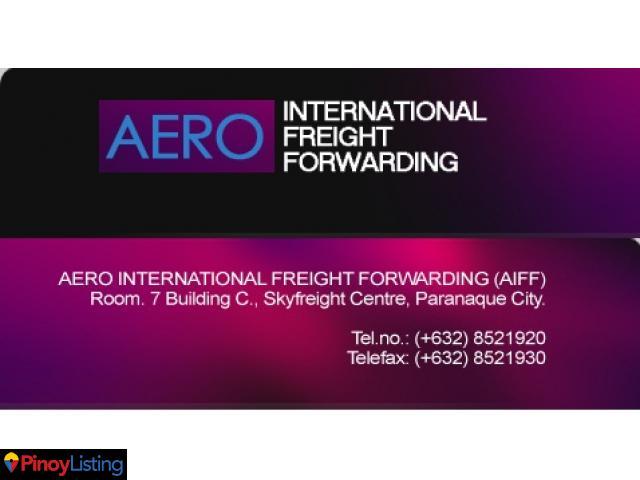 Aero International Freight Forwarding PARANAQUE CITY - Pinoy Listing