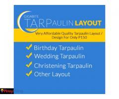 Gigabite Tarpaulin Layout