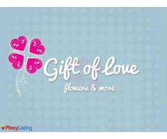 Gift of Love flowers & more