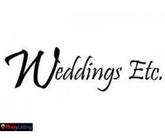 Weddings, Etc.