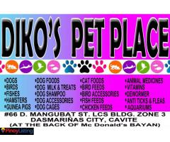 Diko's Pet Place