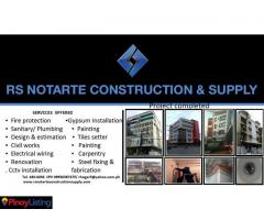 RS NOTARTE CONSTRUCTION & SUPPLY