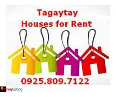Tagaytay Houses for Rent