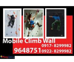 Mobile Climb Wall Rental Hire Manila Philippines