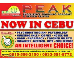 PEAK Excellence Review Center-Cebu