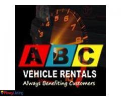 ABC Van Rentals Davao