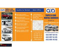 Triple A Car Rental Services