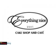 Everything Nice, Cake Shop and Café
