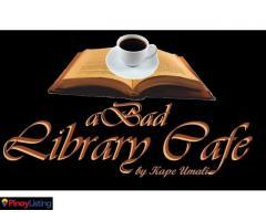 A Bad Library Cafe by Kape Umali