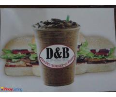 D&B Frappe,Burger, Coffee