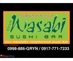 GRYN Wasabi Sushi Bar - Sta. Rosa