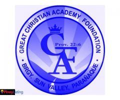 Great Christian Academy A.C.E -School of Tomorrow
