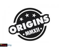 Origins Authentic Shoes and Apparel