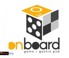 Onboard Game+Gastro Pub