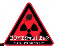 Bombshelter Internet and Gaming Spot