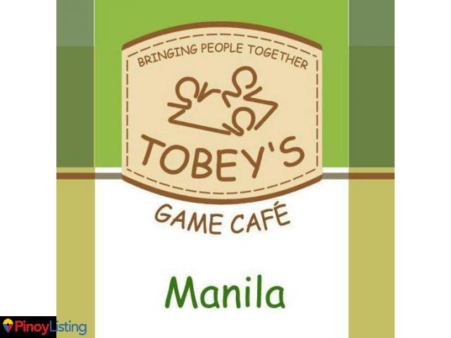 Tobey's Games Cafe Manila
