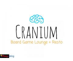 Cranium Board Game Lounge + Resto