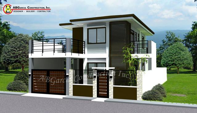 Ab garcia construction inc philippines taguig city for Up and down house design