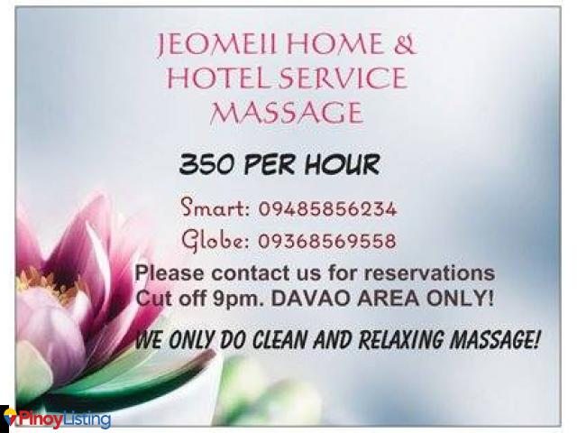 Massage davao home service