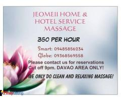 Jeomeii Home & Hotel Massage Service