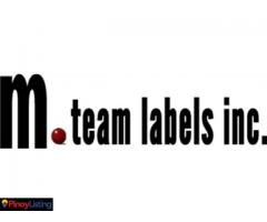 M.Team Labels Inc