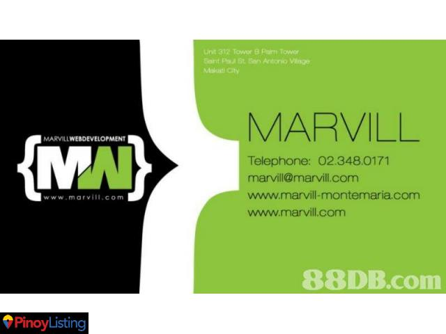 MARVILL WEB DEVELOPMENT SERVICES