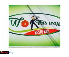 Wok This Way Resto Bar