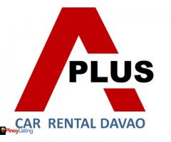 A Plus Car Rental Davao