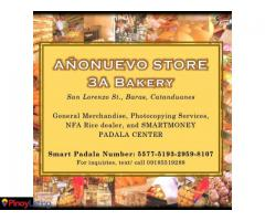 Añonuevo Store and 3A Bakery