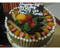 Orange zone cake and pastries