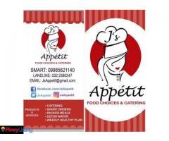 J's Appétit Food Choices & Catering Services