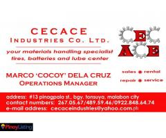 CECACE INDUSTRIES CO LTD