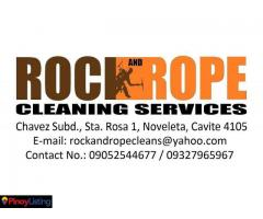 Rock and Rope Cleaning Services