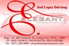 Elegant Tailoring & Dress Shop